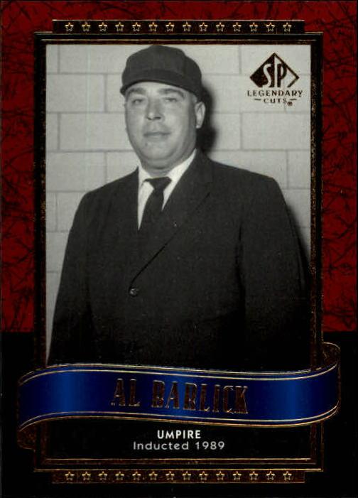 2003 SP Legendary Cuts #2 Al Barlick