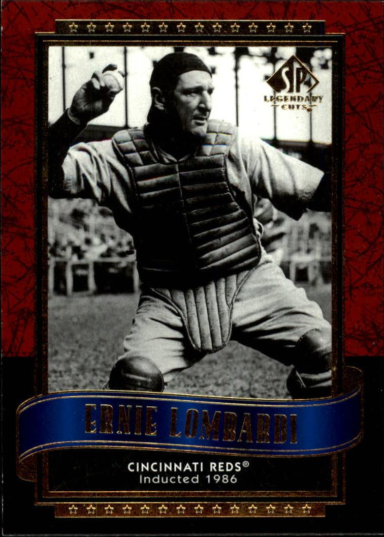 2003 SP Legendary Cuts #40 Ernie Lombardi