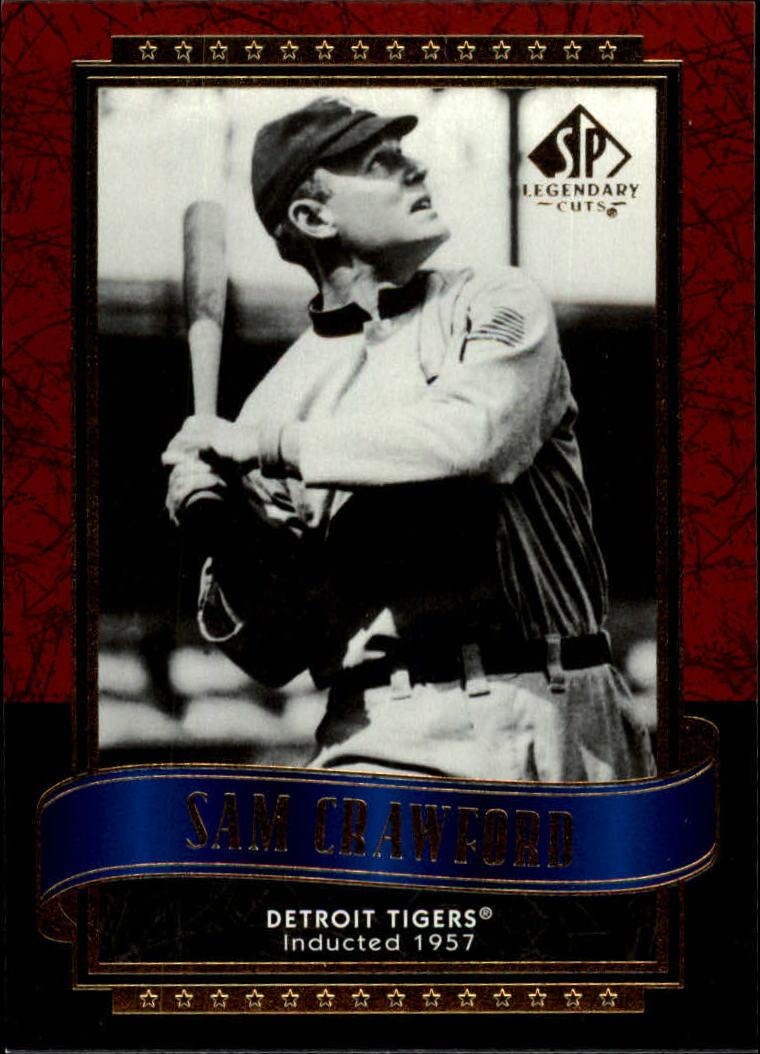 2003 SP Legendary Cuts #111 Sam Crawford
