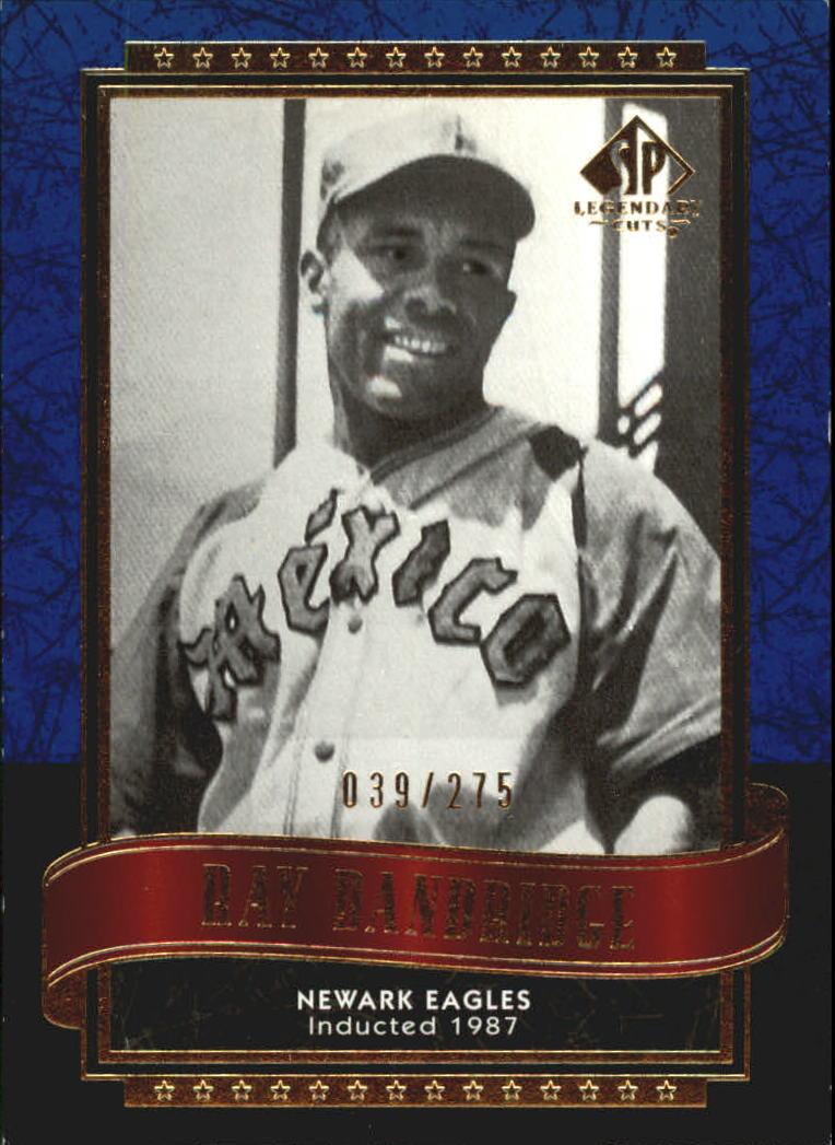 2003 SP Legendary Cuts Blue #101 Ray Dandridge
