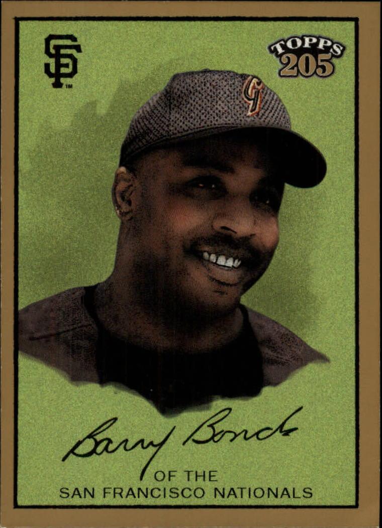 2003 Topps 205 #1A Barry Bonds w/Cap