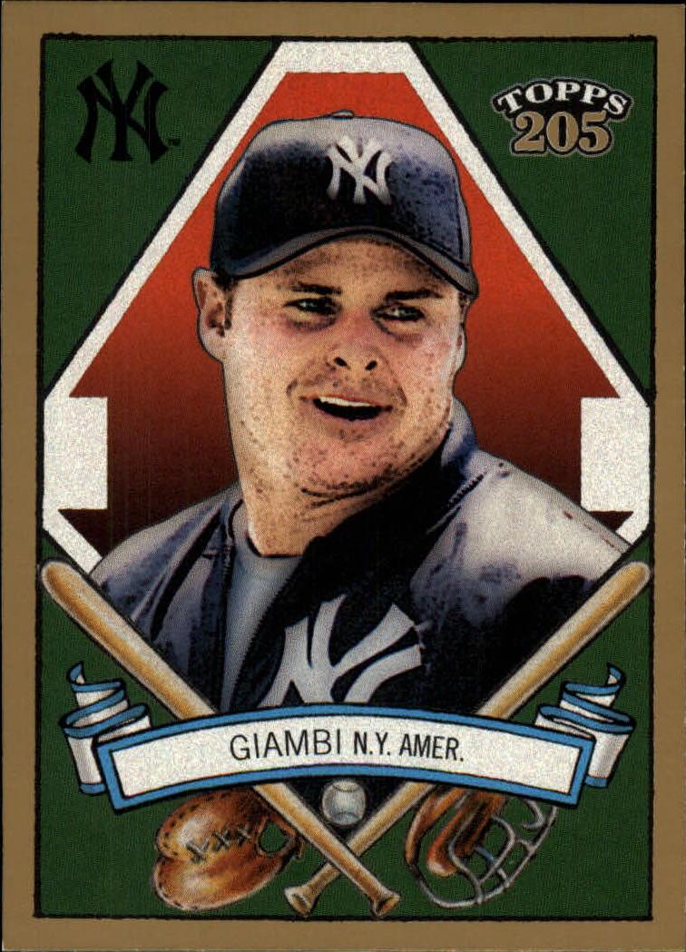 2003 Topps 205 #8A Jason Giambi Full Jkt
