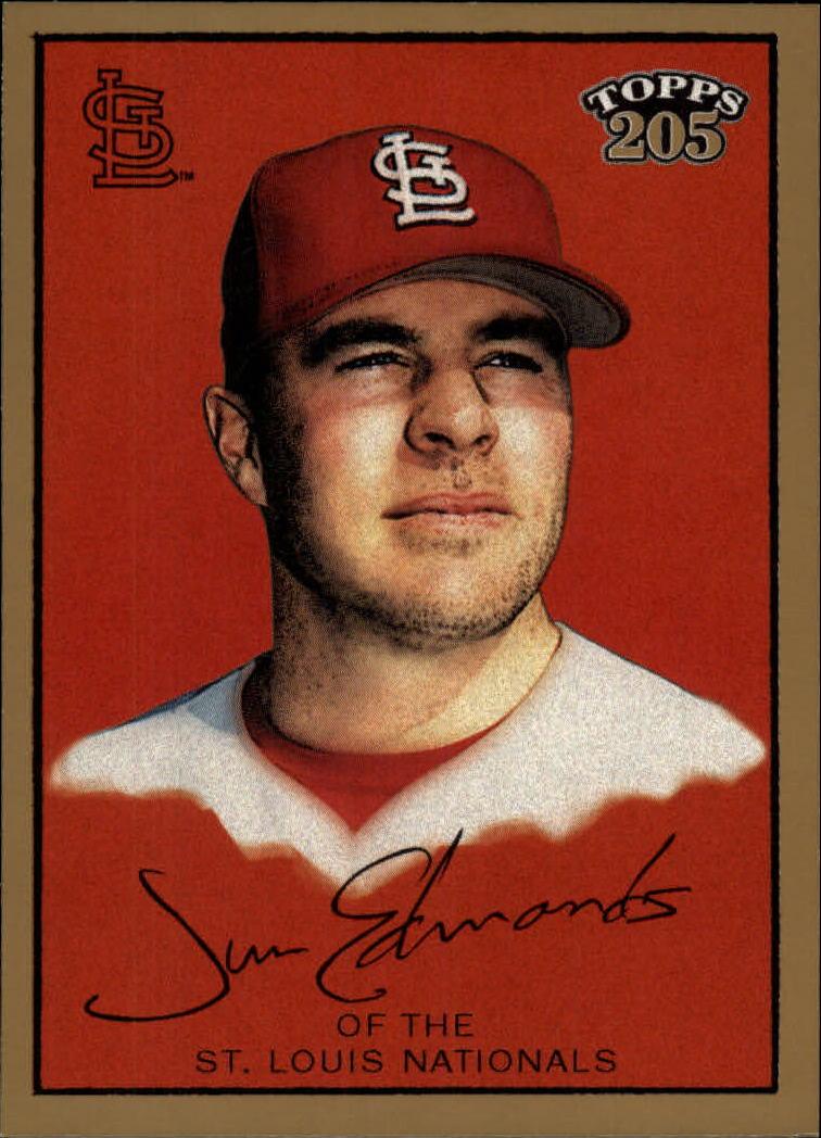 2003 Topps 205 #11 Jim Edmonds