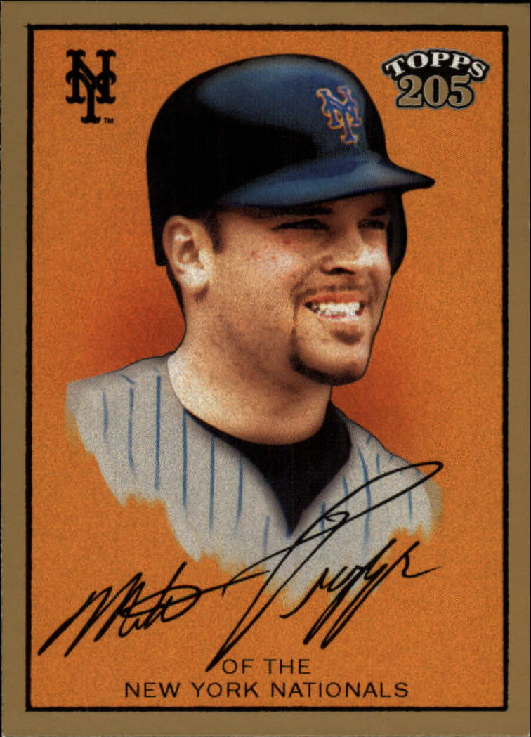 2003 Topps 205 #12A Mike Piazza Orange
