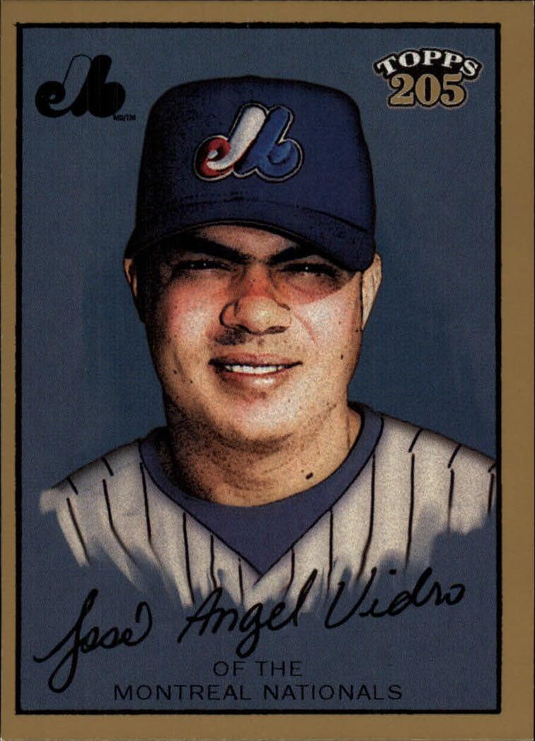 2003 Topps 205 #14 Jose Vidro