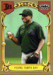2003 Topps 205 #171 Delmon Young FY SP RC