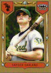 2003 Topps 205 #173 Brian Snyder FY SP RC