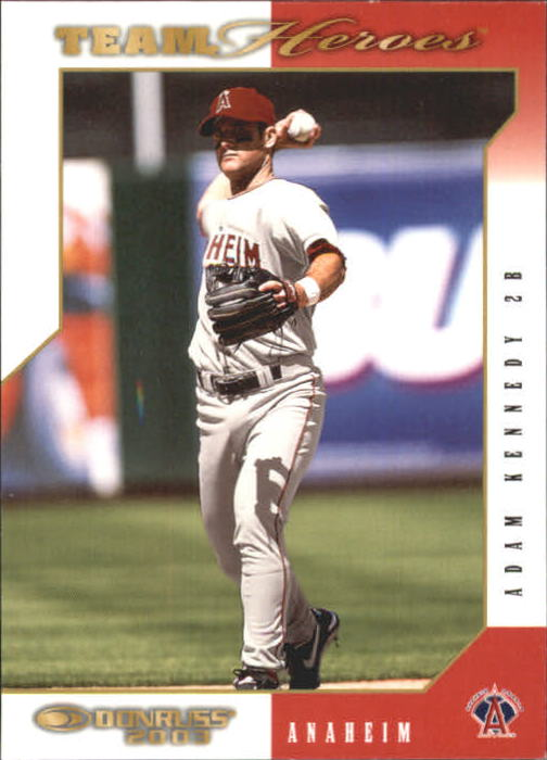 2003 Donruss Team Heroes #1 Adam Kennedy