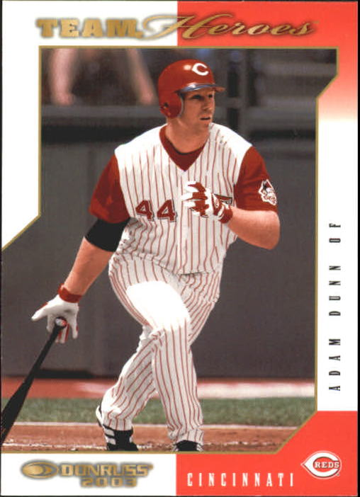 2003 Donruss Team Heroes #134 Adam Dunn