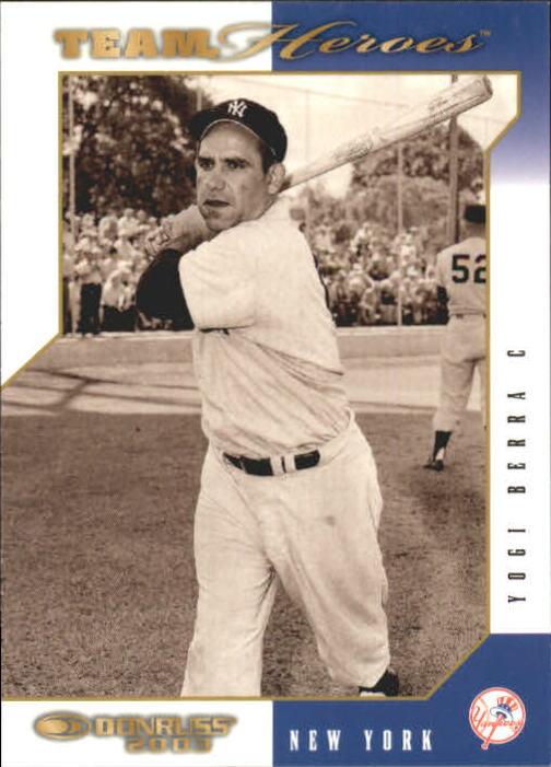 2003 Donruss Team Heroes #340 Yogi Berra