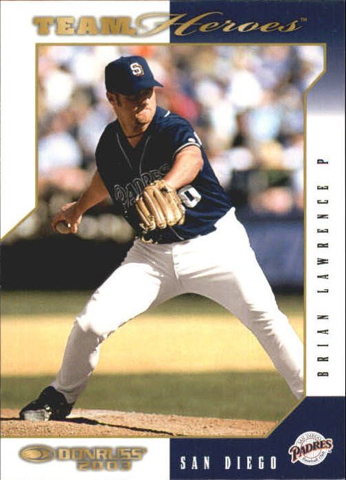 2003 Donruss Team Heroes #421 Brian Lawrence