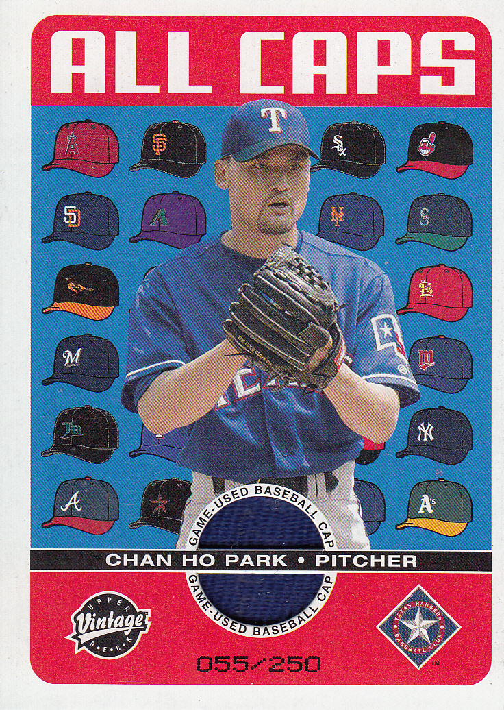 2003 Upper Deck Vintage All Caps #CP Chan Ho Park