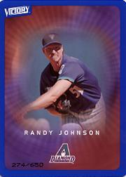 2003 Upper Deck Victory Tier 3 Blue #7 Randy Johnson