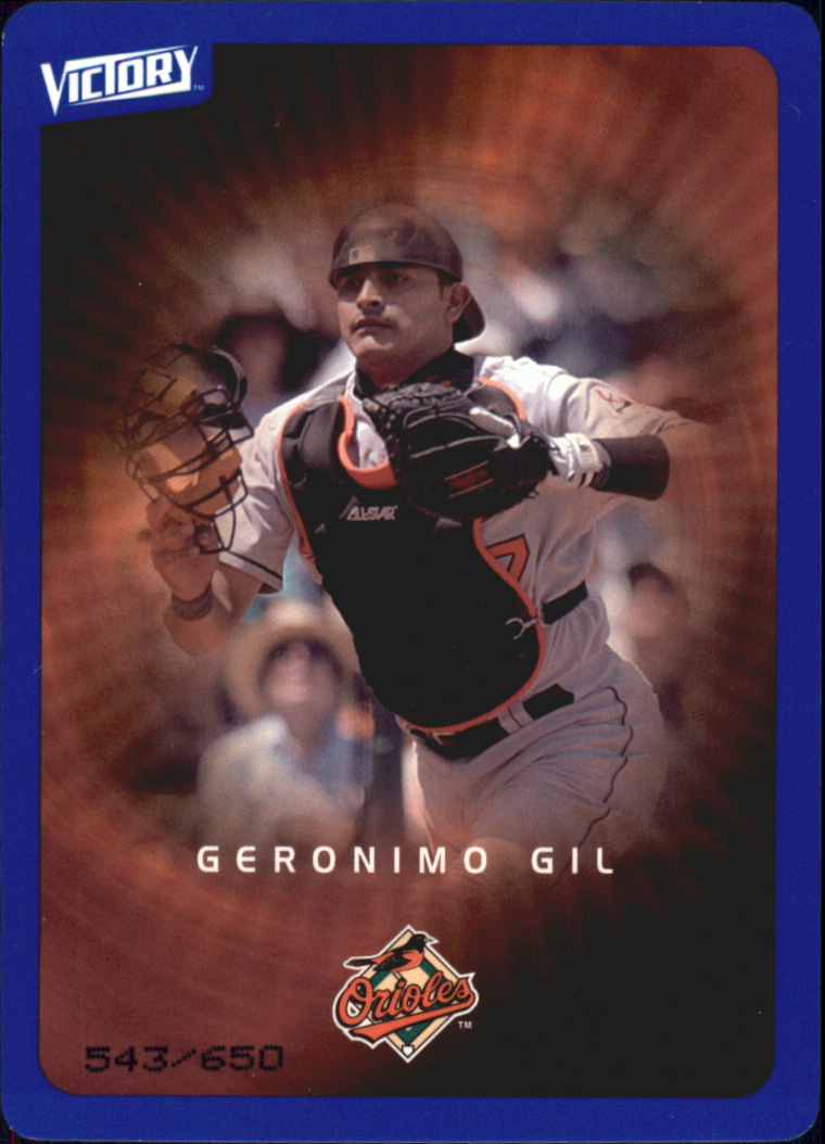 2003 Upper Deck Victory Tier 3 Blue #14 Geronimo Gil