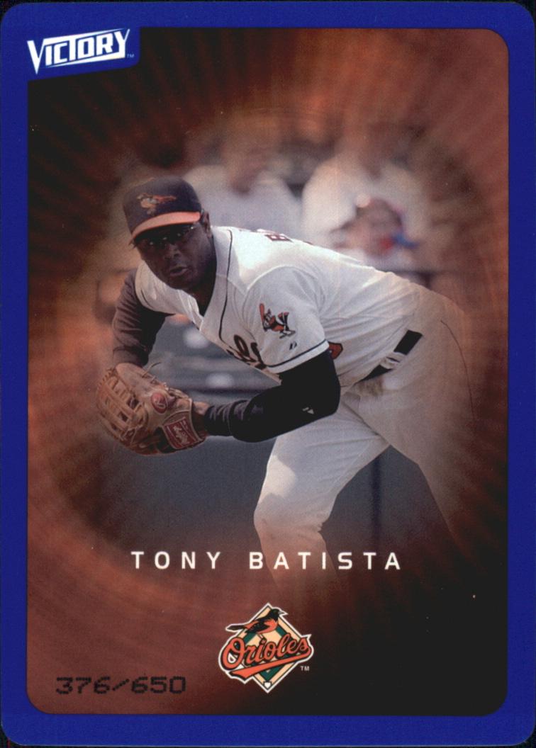 2003 Upper Deck Victory Tier 3 Blue #15 Tony Batista