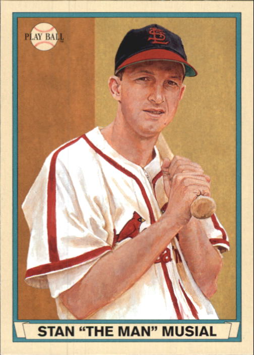 2003 Upper Deck Play Ball Red Backs #64 Stan Musial
