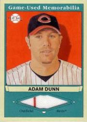 2003 Upper Deck Play Ball Game Used Memorabilia Tier 1 #AD1 Adam Dunn Jsy