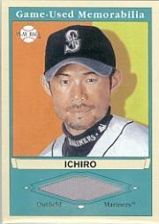 2003 Upper Deck Play Ball Game Used Memorabilia Tier 1 #IS1 Ichiro Suzuki Jsy