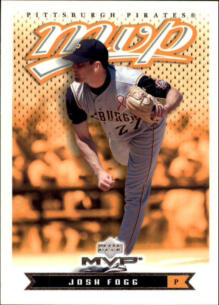 2003 Upper Deck MVP #163 Josh Fogg