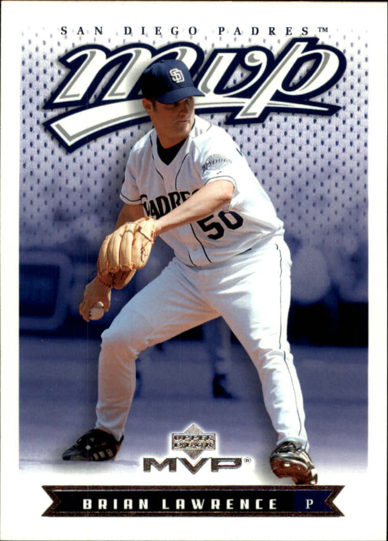 2003 Upper Deck MVP #168 Brian Lawrence