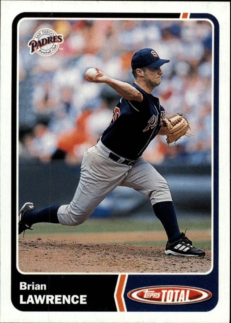 2003 Topps Total #779 Brian Lawrence