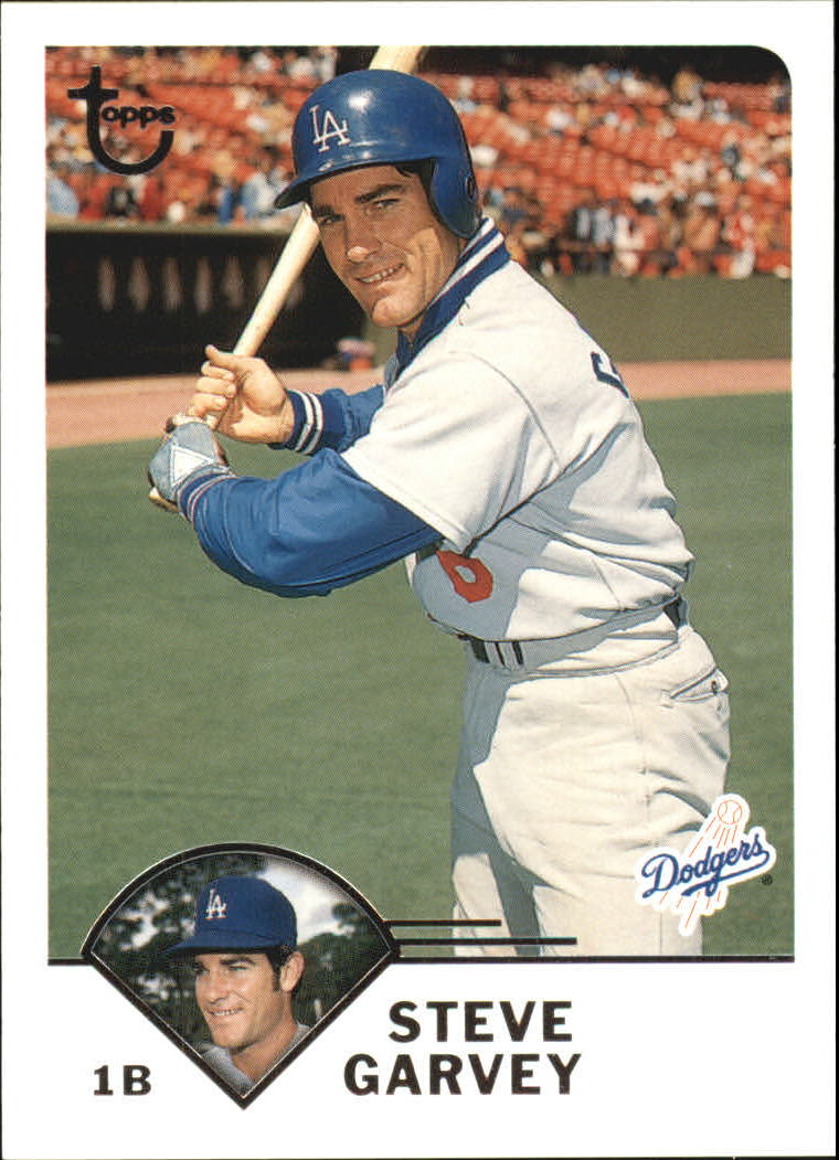 2003 Topps Retired Signature #55 Steve Garvey