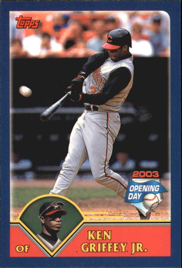 2003 Topps Opening Day Stickers #24 Ken Griffey Jr.