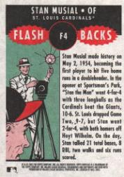 2003 Topps Heritage Flashbacks #F4 Stan Musial back image