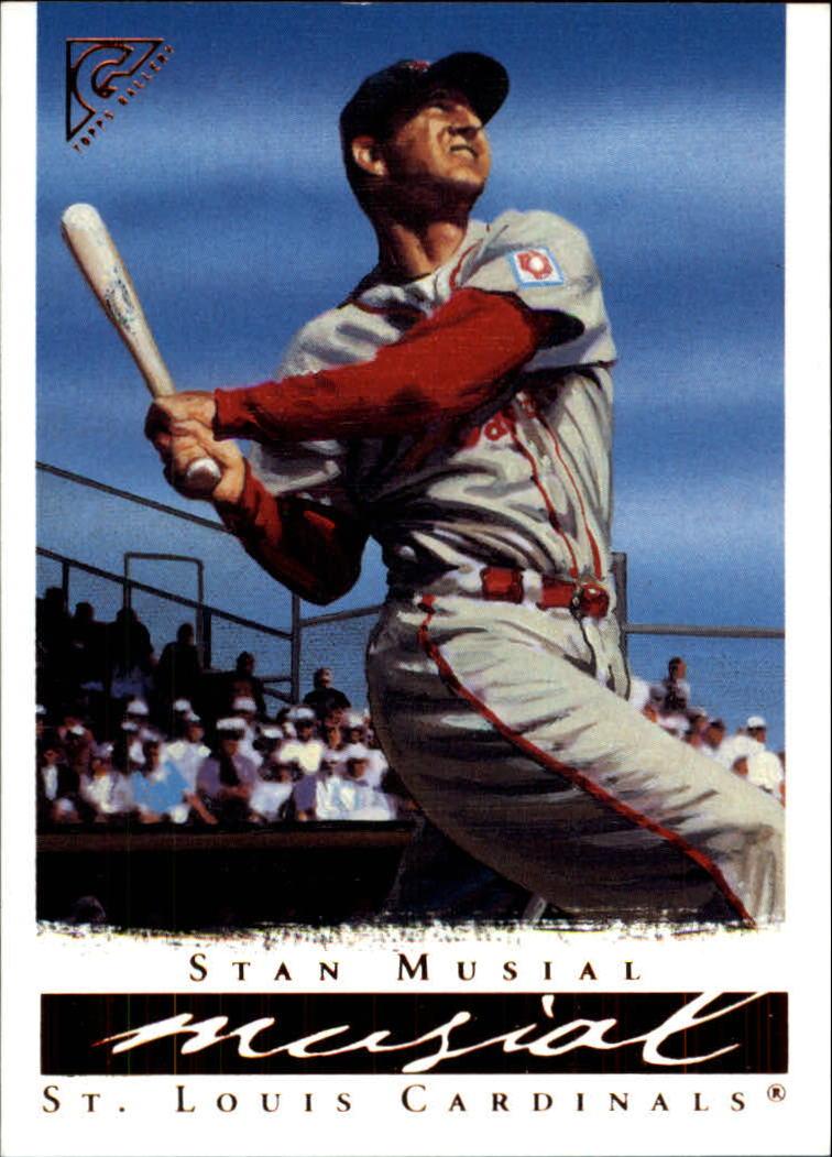 2003 Topps Gallery HOF #52 Stan Musial Day