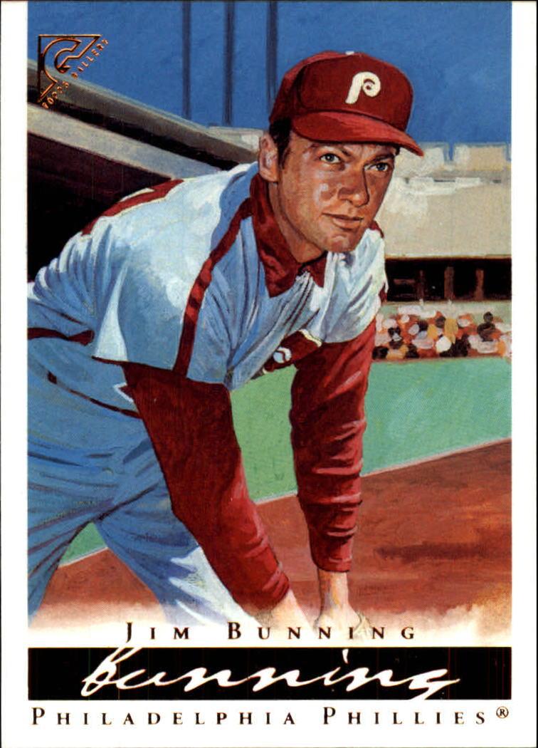 2003 Topps Gallery HOF #69 Jim Bunning Grey Uni