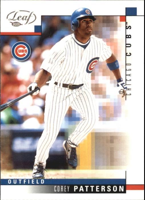 2003 Leaf #140 Corey Patterson