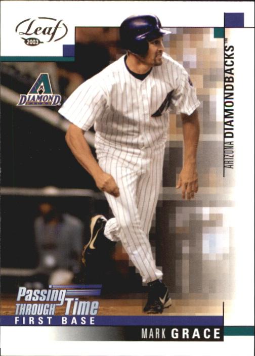 Mark Grace Baseball Card 2004 Leaf Second Edition # 103 NM//MT