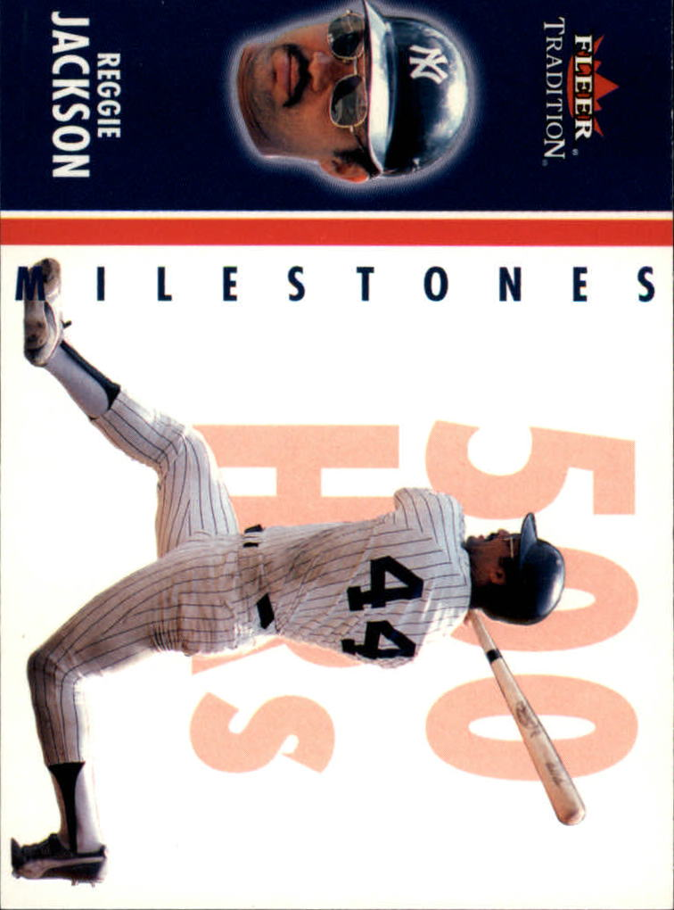 2003 Fleer Tradition Milestones #7 Reggie Jackson