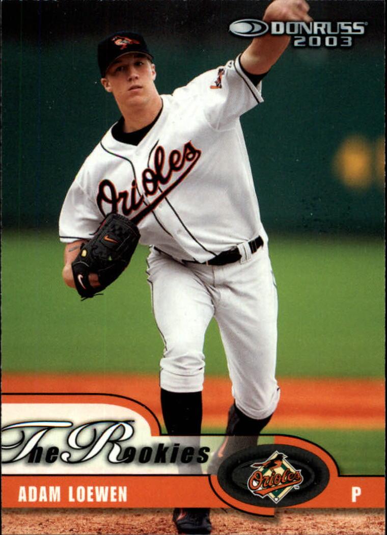 2003 Donruss Rookies #2 Adam Loewen RC