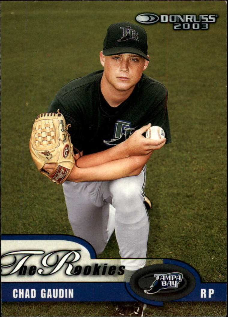 2003 Donruss Rookies #46 Chad Gaudin RC