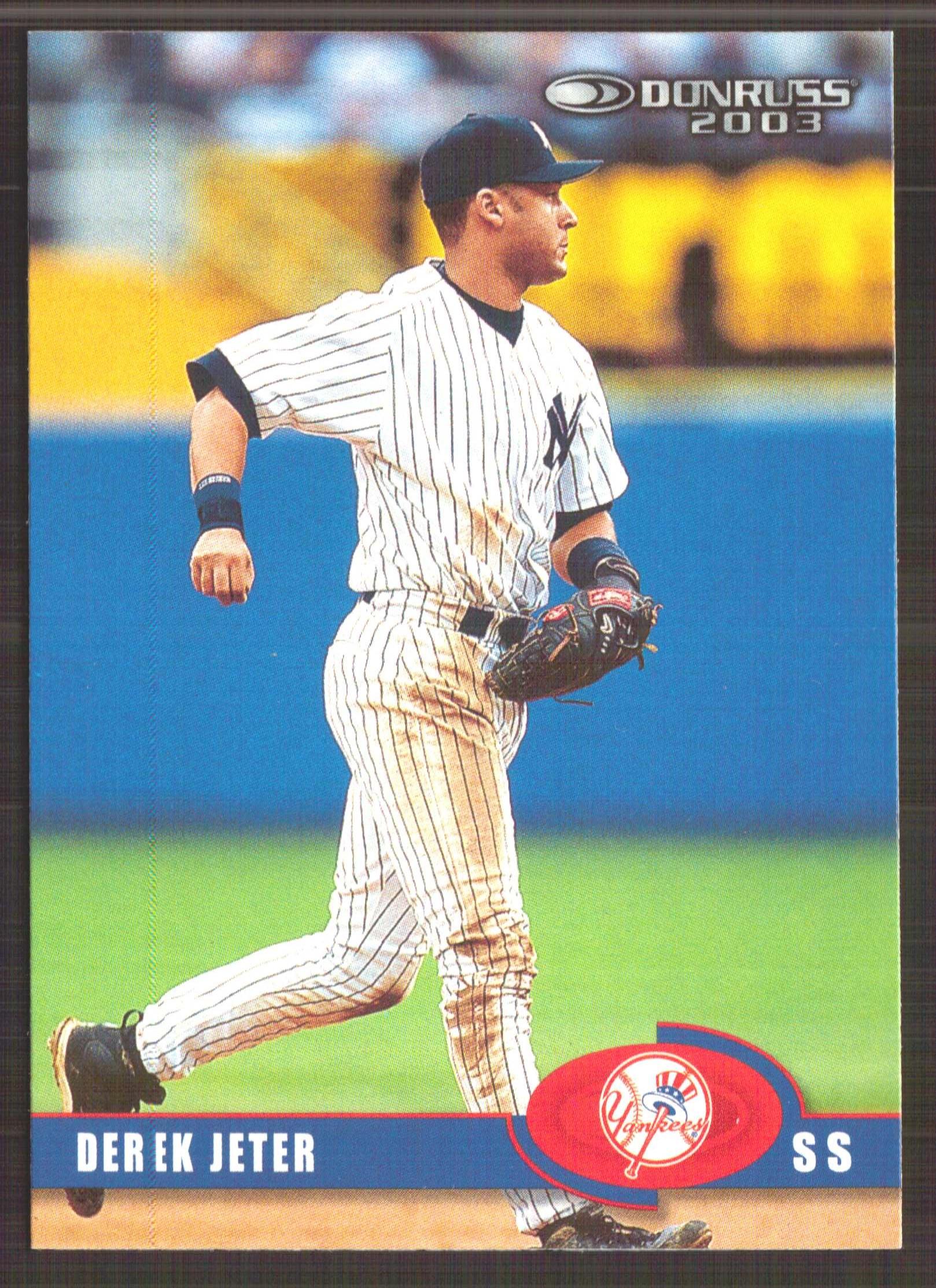 2003 Donruss #154 Derek Jeter