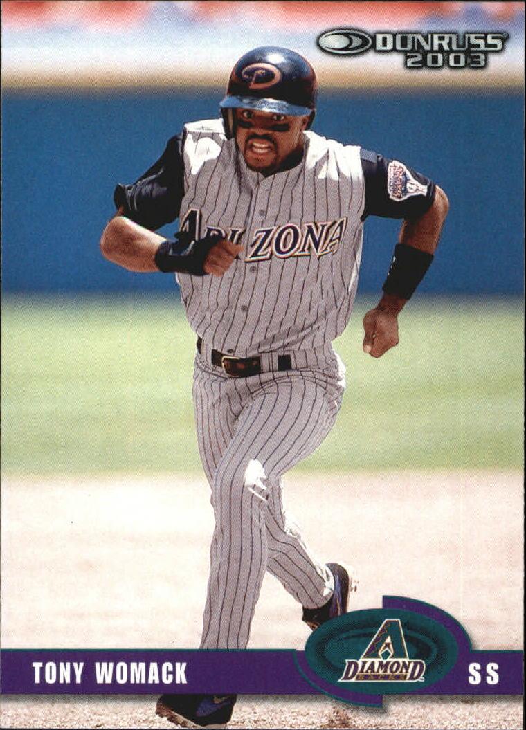 2003 Donruss #232 Tony Womack