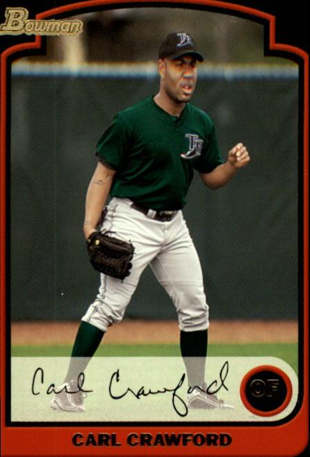 2003 Bowman #25 Carl Crawford