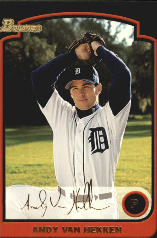 2003 Bowman Gold #6 Andy Van Hekken
