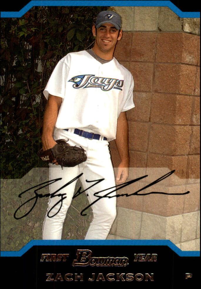 2004 Bowman Draft #109 Zach Jackson RC