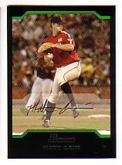 2004 Bowman Draft #126 Matt Cain