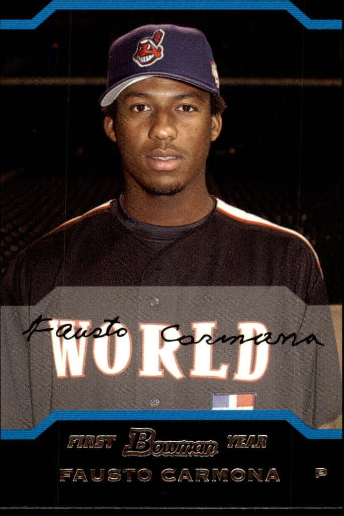 2004 Bowman Draft #148 Fausto Carmona RC