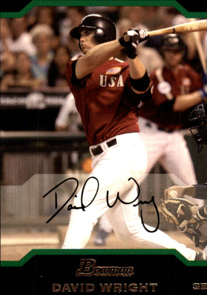 2004 Bowman Draft #161 David Wright