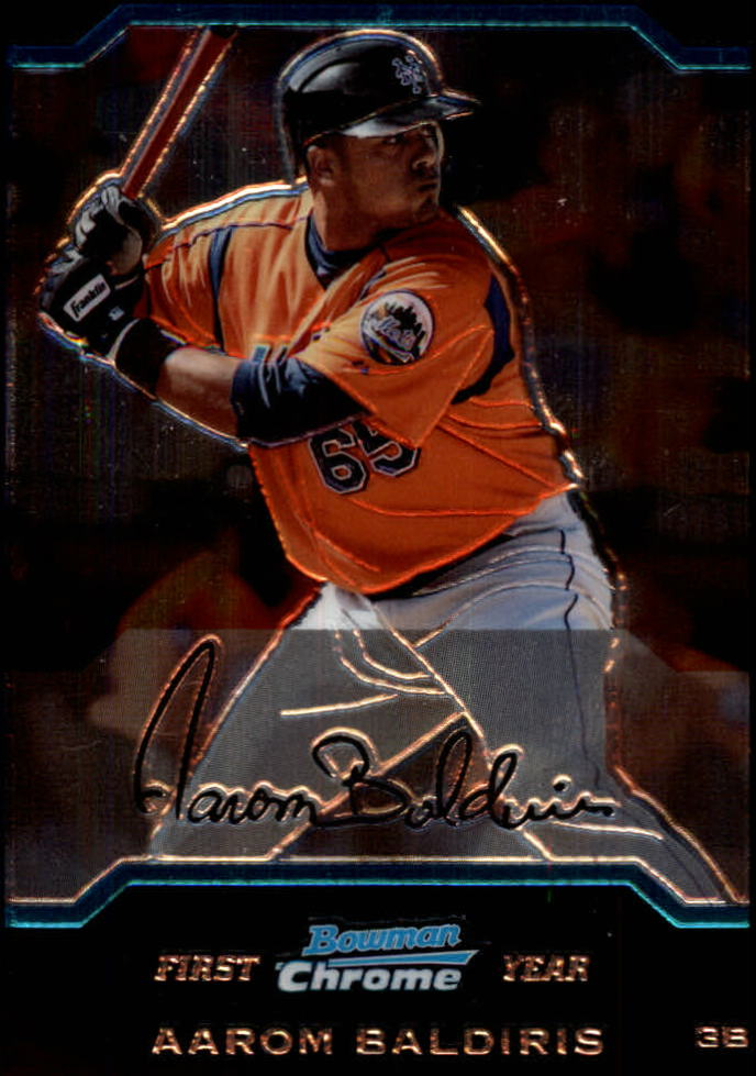 2004 Bowman Chrome #167 Aarom Baldiris RC