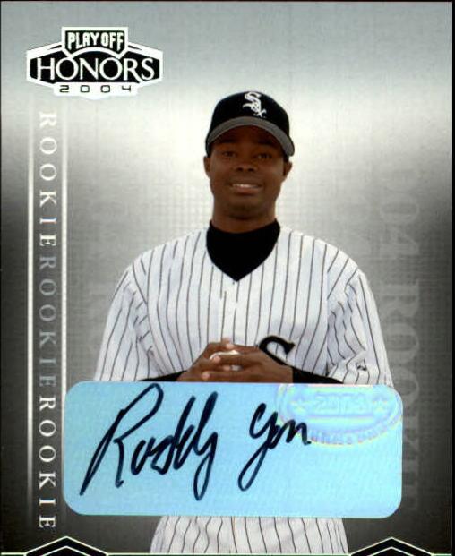 2004 Playoff Honors #231 Ruddy Yan AU/800