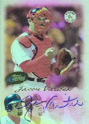 2004 eTopps Autographs #JV Jason Varitek 04/105 *