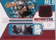 2004 Fleer Authentix Game Jersey #MC Miguel Cabrera