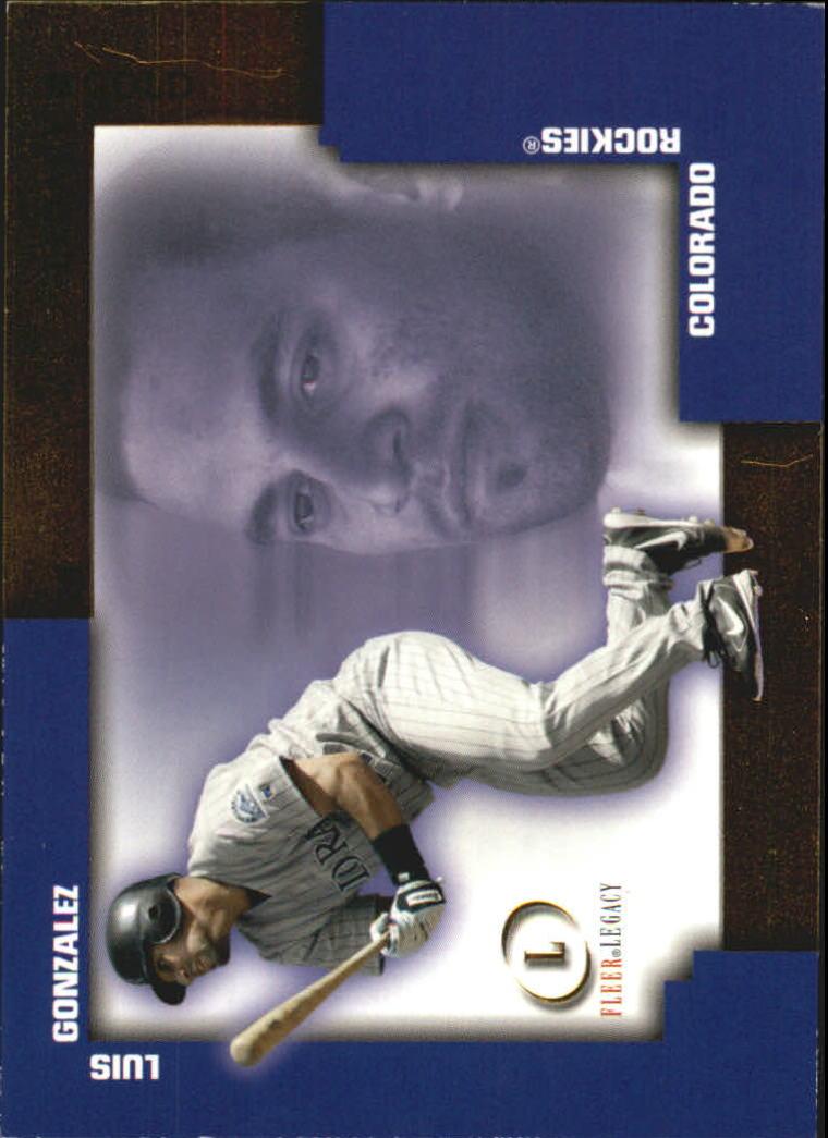 2004 Fleer Legacy Gold #70 Luis Gonzalez FL