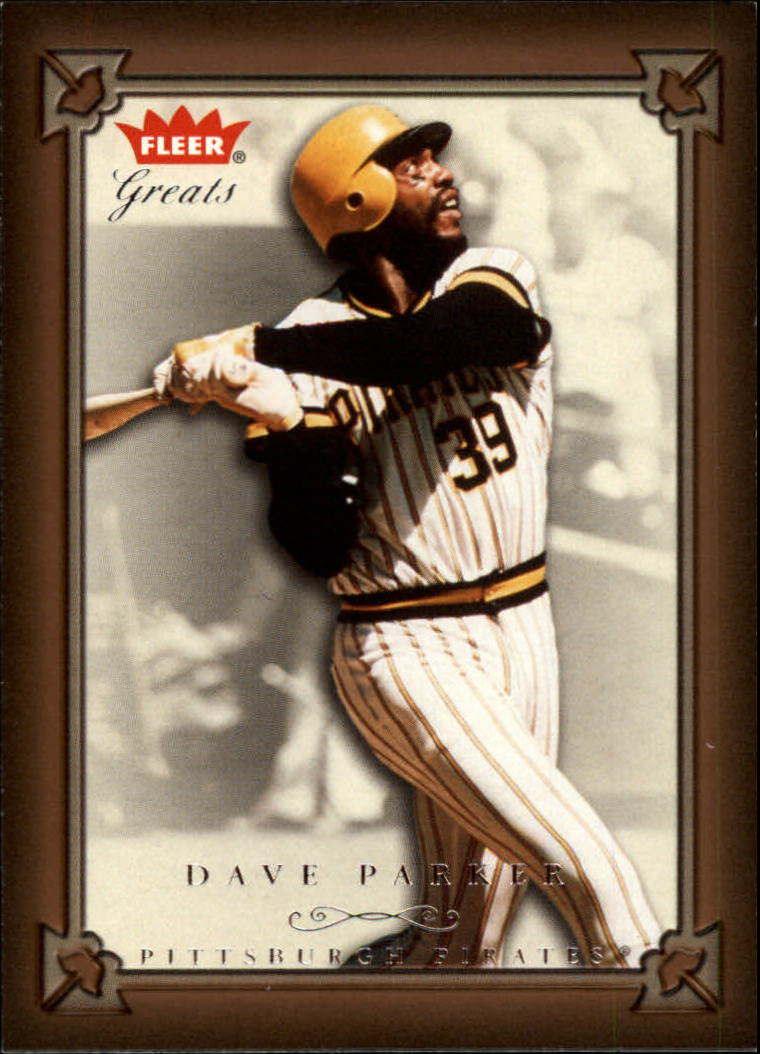 2004 Greats of the Game #27 Dave Parker