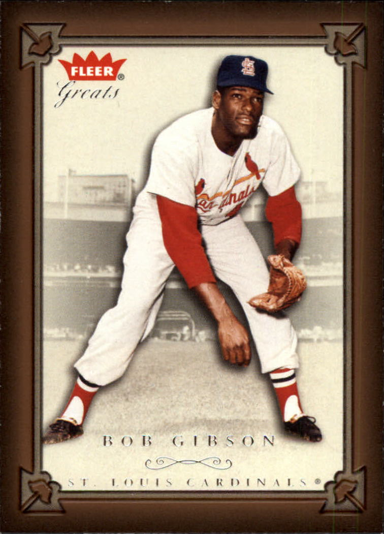 2004 Greats of the Game #50 Bob Gibson